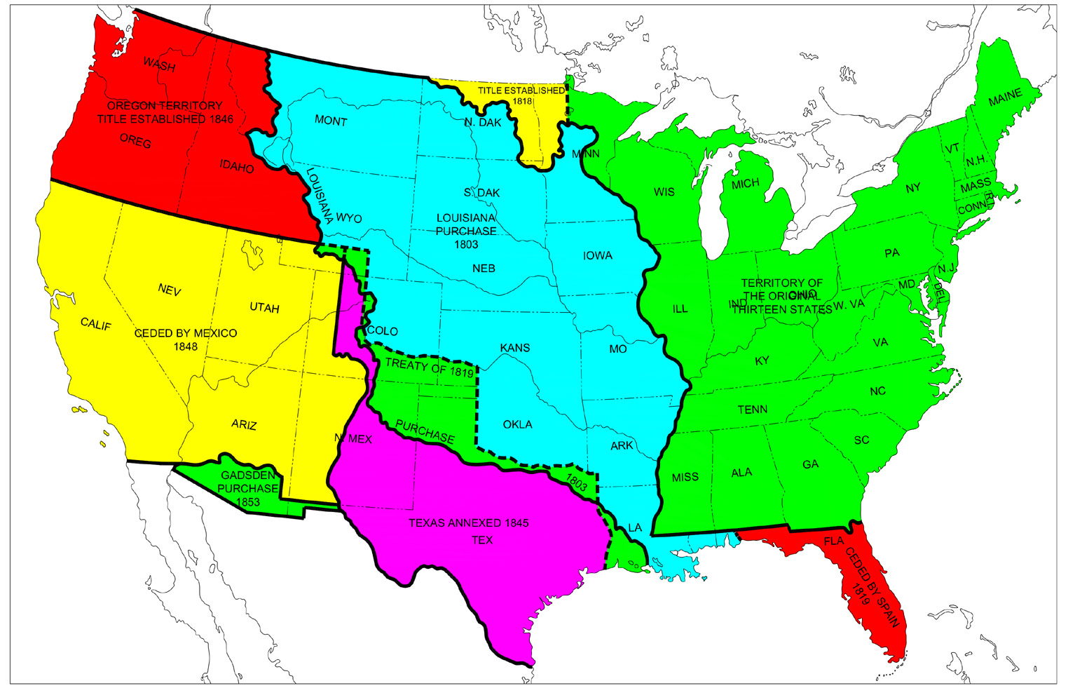 Image Result For Us Territory Map